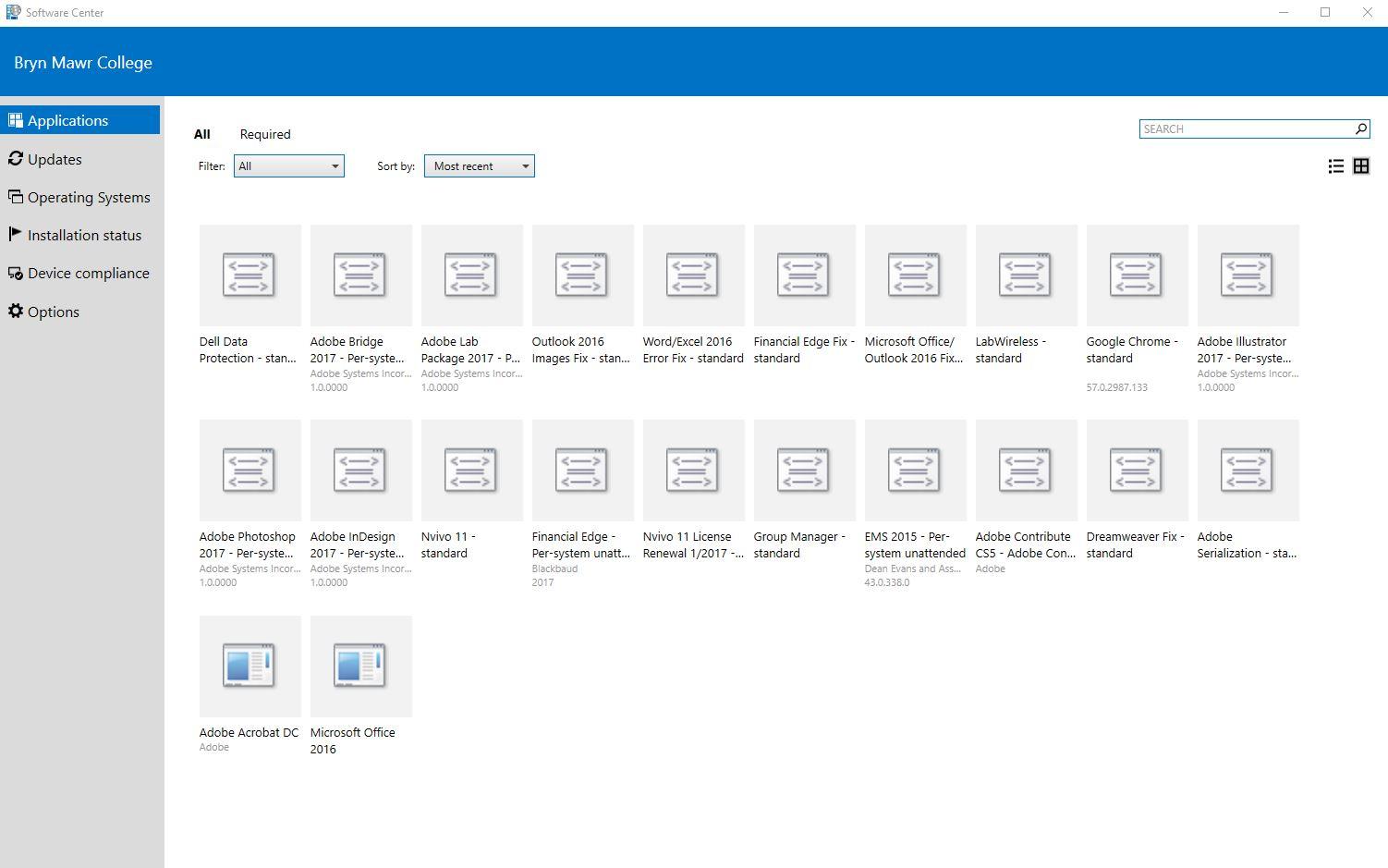 Installing Programs via Microsoft Software Center : Tech ...