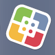 "The Software Center icon on the dock looks like a tilted square composed of four colored quadrants. It can also be reached by typing ""Software Center"" into a Spotlight Search."