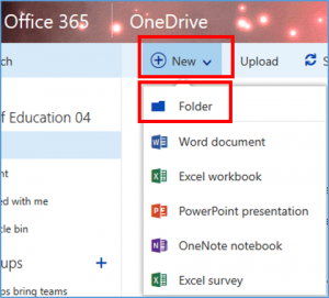 6 - creating folders