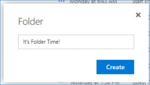 7 - naming folders