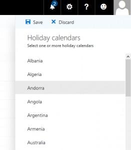 illustration of holiday calendars